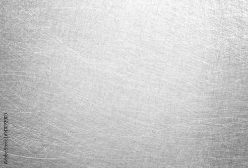 Fotografía  Silver foil texture background