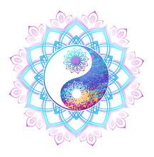 Pastel Symbol Of Yin Yang