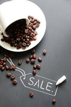 Sale Coffee Concept