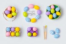 Easter Holiday Handmade Eggs D...
