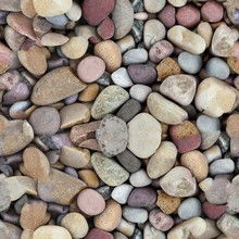 Seamless Texture Multicolored Pebbles Smooth Pebbles Large