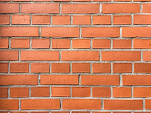 Red Brick Wall.Brick Wall Background.