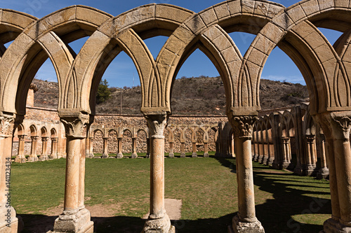 Monasterio de San Juan de Duero, Soria. 1