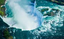 Aerial View Of Niagara Falls, ...