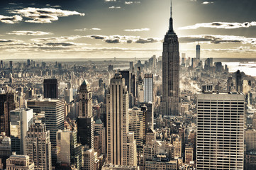 Fototapeta Popularne New York City.