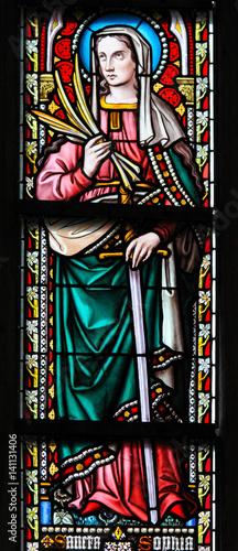 Платно Stained Glass - Saint Sophia the Martyr