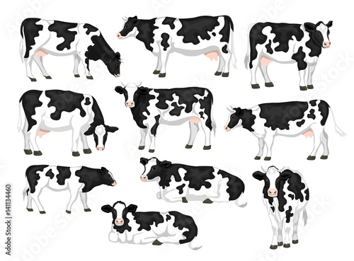 cow side view coloring pages - photo#21