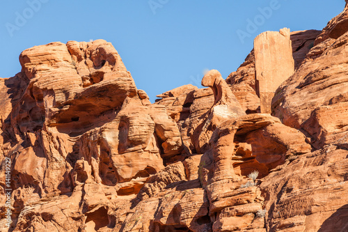 Deurstickers Bruin Scenic Valley of Fire State Park Nevada