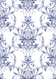 Paisley  seamless pattern, watercolor decorative motif. Hand drawn print for wrapping, wallpaper, fabric, textile - 141164083