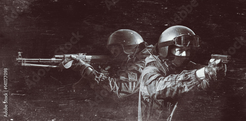 Fotografía Members of the special forces division