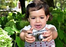 Baby Girl Discover Photos On A...