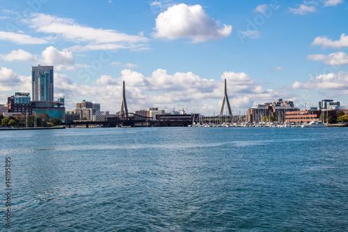 Fotobehang Oceanië Boston, Massachusetts, USA downtown cityscape.