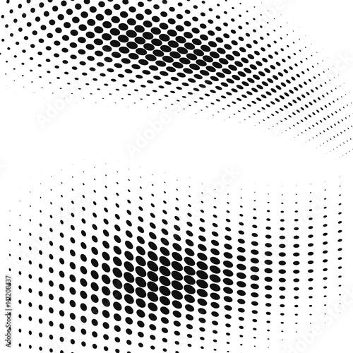 Zdjęcie XXL tło z efektem punktów rastrowych