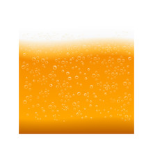 Beer Foam Background Vector Il...