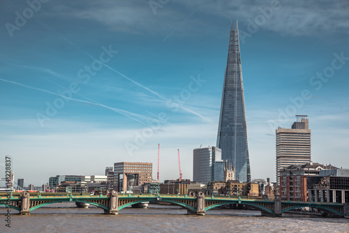 Staande foto Canada River Thames and London skyline