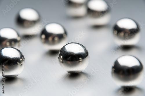 Fotografía  金属球の球体