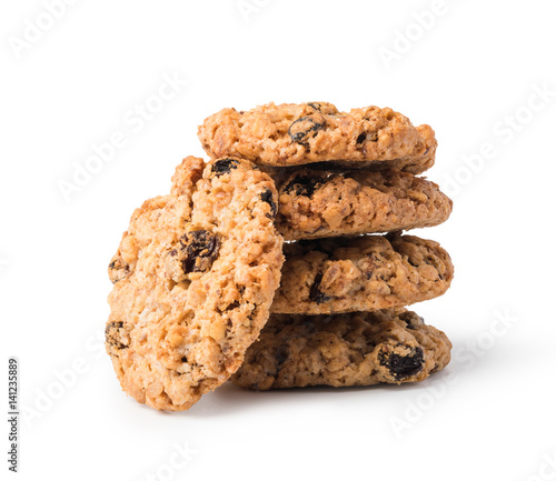 Photo  oatmeal cookies