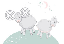 Cute Story With Sleeping Lamb ...