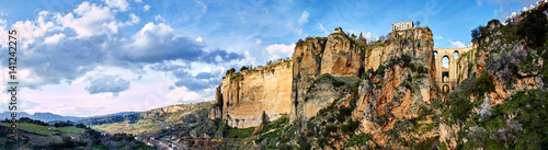 Stampa su Tela Ronda and surroundings, Panorama