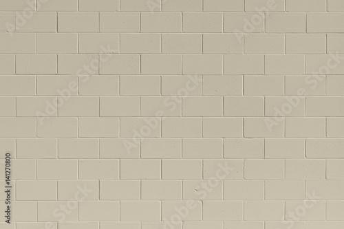 Papel de parede  Clean, freshly painted, tan, generic, brick cinder block wall background