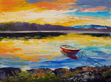 Oil Painting, Artwork On Canva...