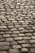 Cobbled Stone Street, Uzes, Provence, France