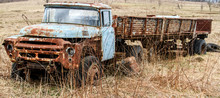The Old Rusty Truck Overgrown Grass ZIL