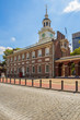 Independence Hall building in Philadelphia Pennsylvania