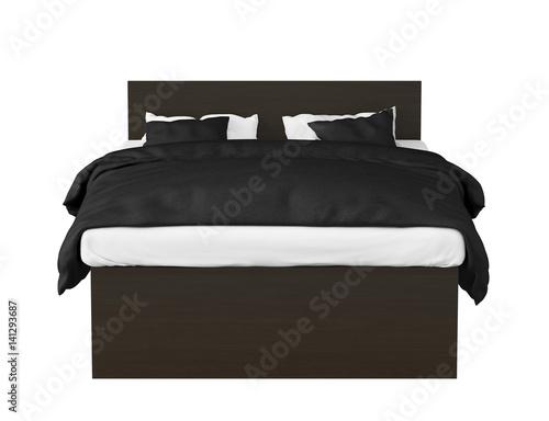 Queen Size Double Bed Kaufen Sie Diese Illustration Und Finden Sie