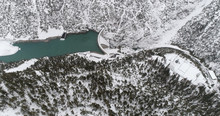 Aerial View Of Hydro Power Pla...