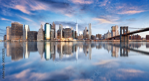 New York City, Manhattan, downtown, NYC, USA.