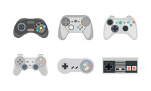 Retro Gamepads And Joysticks I...