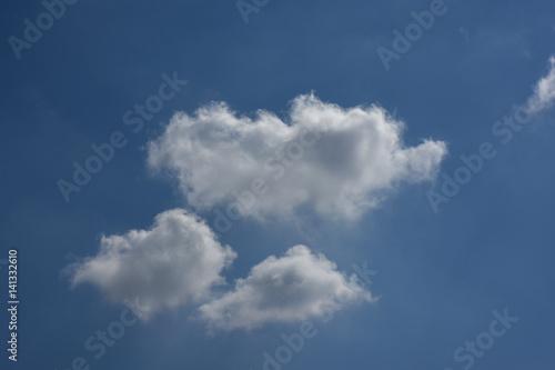 Fotografie, Obraz  青空と雲