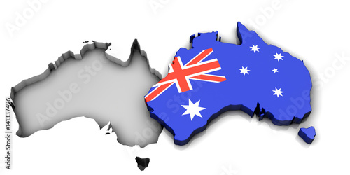 Valokuva  Australia 3D