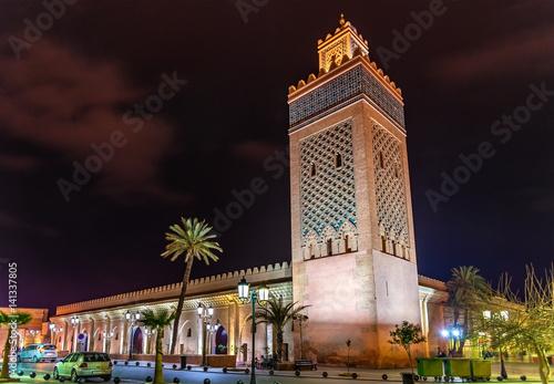 Fotografie, Obraz  Moulay El Yazid Mosque in Marrakesh, Morocco