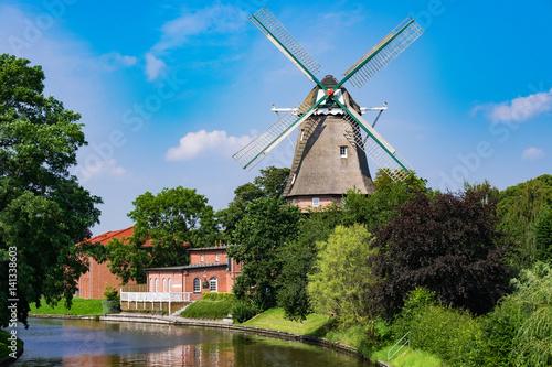 Poster Molens Windmühle von Hinte