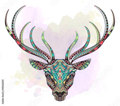 wzorzysta-glowa-jelenia
