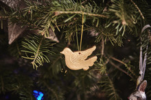 Christmas Decoration, Hanging On Christmas Tree, Close-up