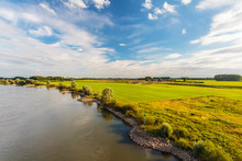 The Old Dutch River IJssel In ...