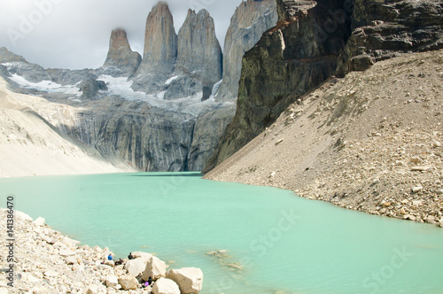 Wall mural - Torres Del Paine - Chile
