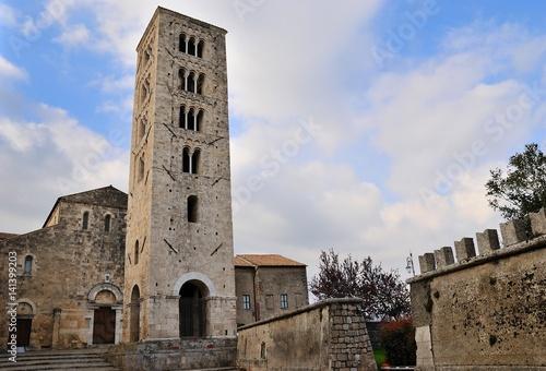Cattedrale di Santa Maria - Anagni - Frosinone - Lazio - Italia Canvas Print
