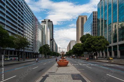 Presidente Vargas Avenue in Rio de Janeiro