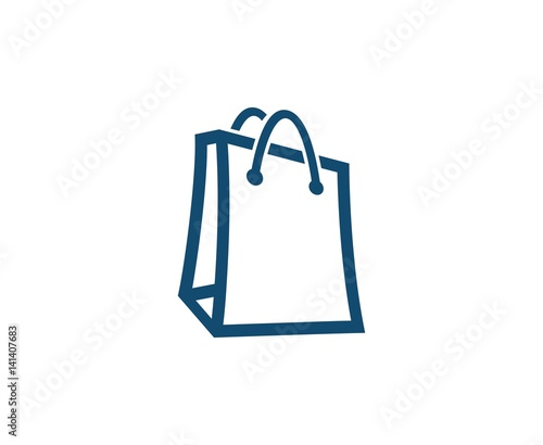 sleek novel style price remains stable Shopping bag logo - Buy this stock vector and explore ...