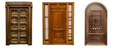 Old Vintage Wood Doors