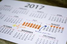 My Vacation Calendar Of Year 2...