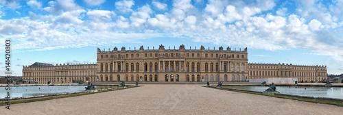 Versailles palace rear facade,symbol of king louis XIV power, France Wallpaper Mural