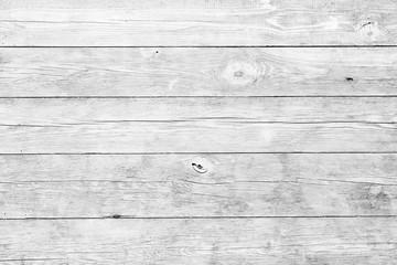 Fototapeta White wood planks background