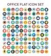 Offfice Flat Icon Set