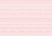刺繍レース ピンク 広告背景