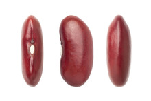 Red Kidney Beans Isolated On W...